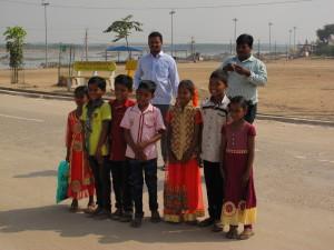 Pózující děti