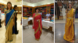 Sari aneb tradiční indický ženský oděv